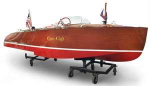 "1942 16"" Chris Craft Hydroplane Stepped Hull"