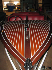 1942  17' Chris Craft runabout Barrelback