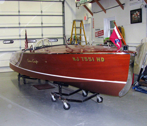 1950 19' Chris Craft Racing Runabout