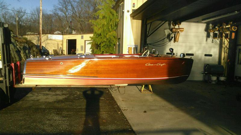 1950 18' Chris Craft Riviera