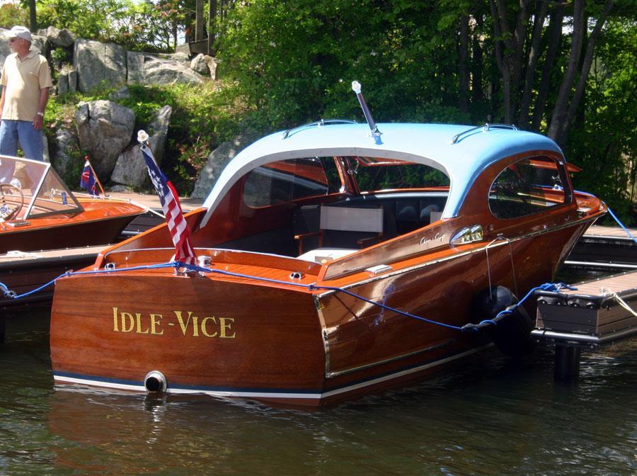 22 Foot Pontoon Boat >> 1953 22' Chris Craft Custom Sedan