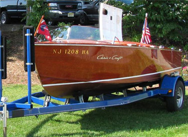 1954 17' Chris Craft Runabout