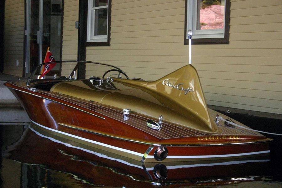 22 Foot Pontoon Boat >> 1955 18' Chris Craft Cobra