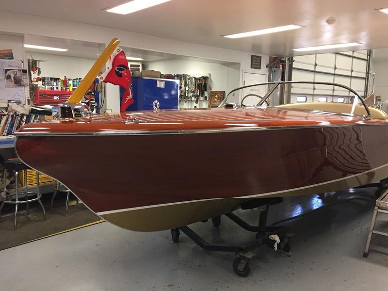 1955 21' Chris Craft Cobra (Hull#17)