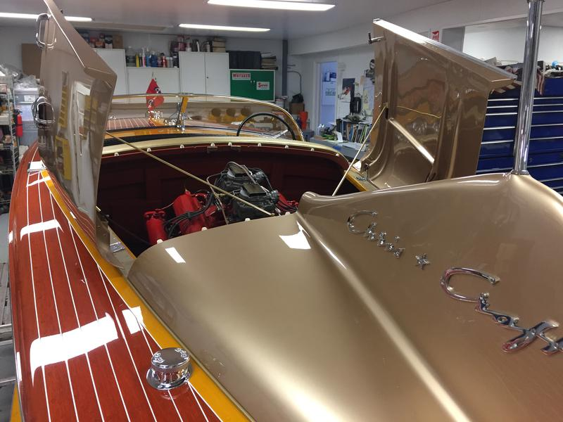 1955 21 39 chris craft cobra cadillac cm 285hp 8 cylinder