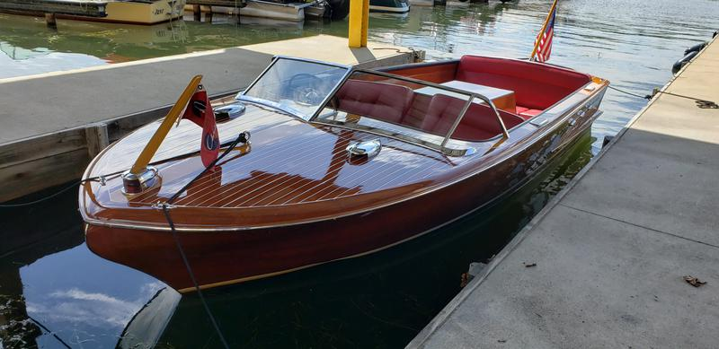 1955 20' Chris Craft Continental For Sale at Katz's Marina NJ
