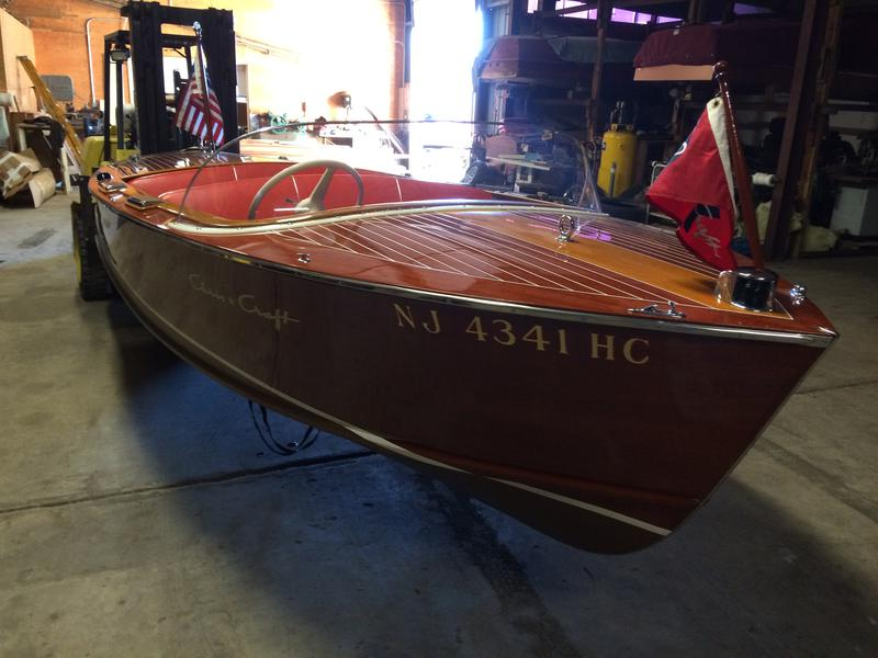 1958 17' Chris Craft Custom Runabout