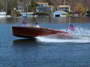 1940 17' Chris Craft Barrelback
